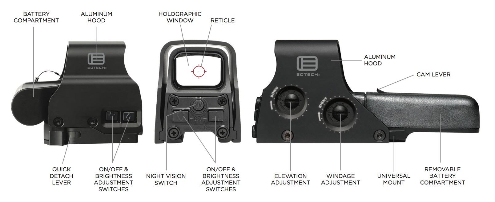 EOtech XPS3 Holografische Zielerfassung Bild 4