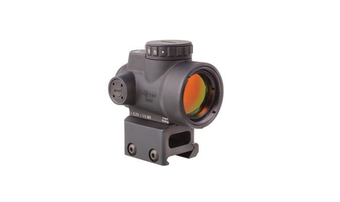Trijicon MRO 1x25 Red Dot Sight Full Cowitness Mount Bild 07