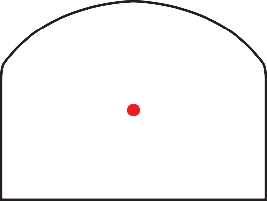 Trijicon RMR Typ 2 Adjustable Red Dot Sight 3.25 MOA Bild 12