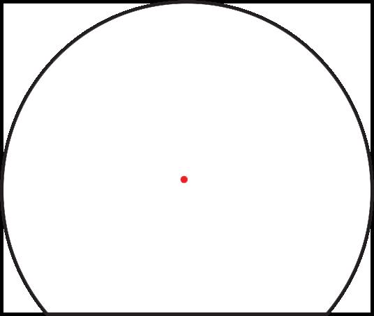 Trijicon SRO Red Dot Sight 1.0 MOA Bild 10