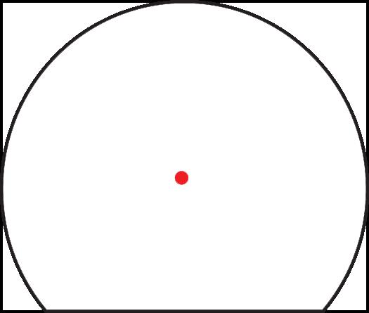 Trijicon SRO Red Dot Sight 2.5 MOA Bild 11