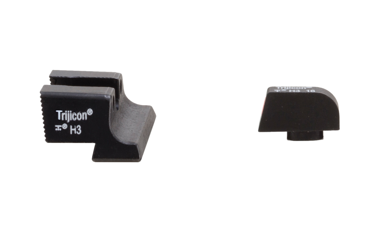 Trijicon HD XR Night Sights Glock Standard Frames Orange Qutline Bild 02