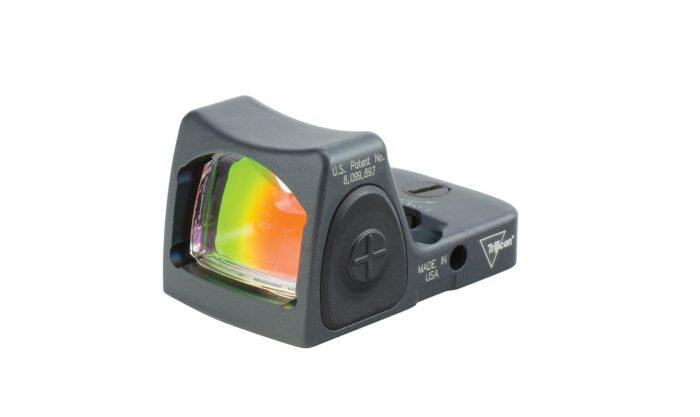 Trijicon RMR Type 2 Red Dot Sight Gray Cerakote Bild 01