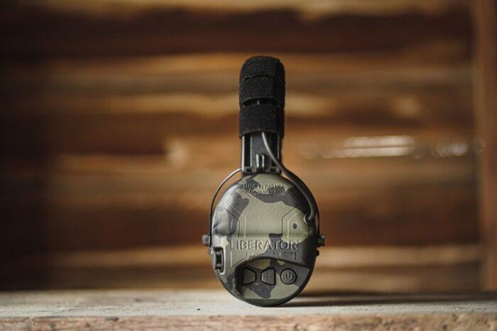 Safariland Liberator HP 2.0 Hearing Protection Black Multicam