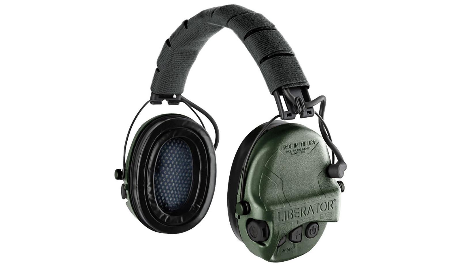 Safariland Liberator HP 2.0 Hearing Protection Olive Drab Green